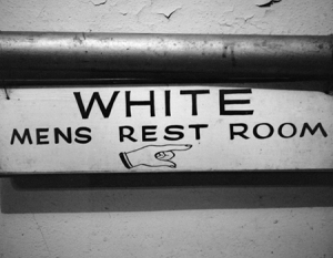 White mens restroom