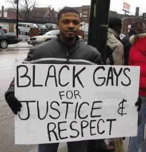 Black gays for justice